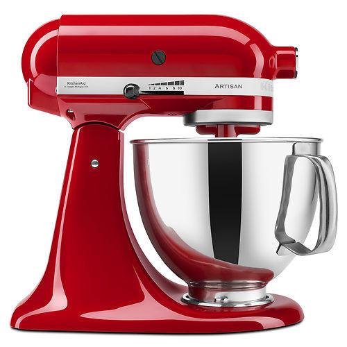KitchenAid Stand Mixer tilt 5-QT RRK150 Artisan Tilt Choose From Many Colors (Manufacturer Refurbished) - $159.99