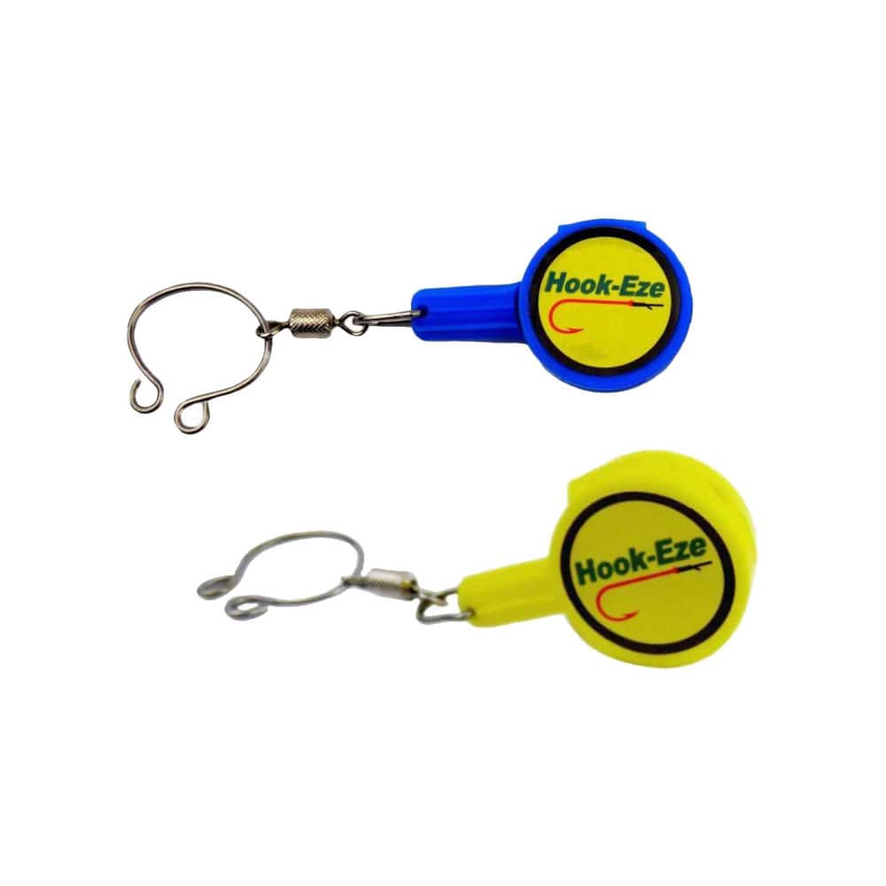 Hook-Eze Twin Pack River & Coast Multi-Purpose Fishing Tool (Blue or Yellow) - $10.99