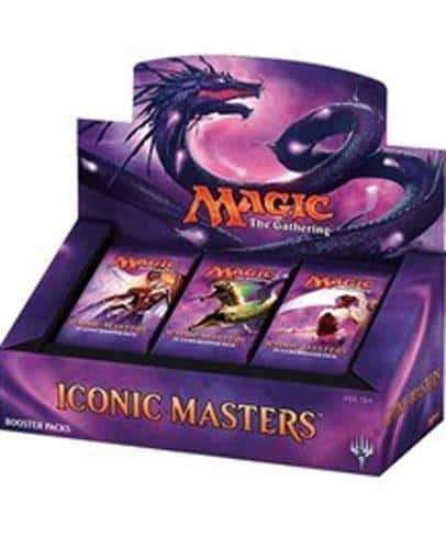 Magic Iconic Masters New Sealed Booster Box MTG - $153.99 $153.98