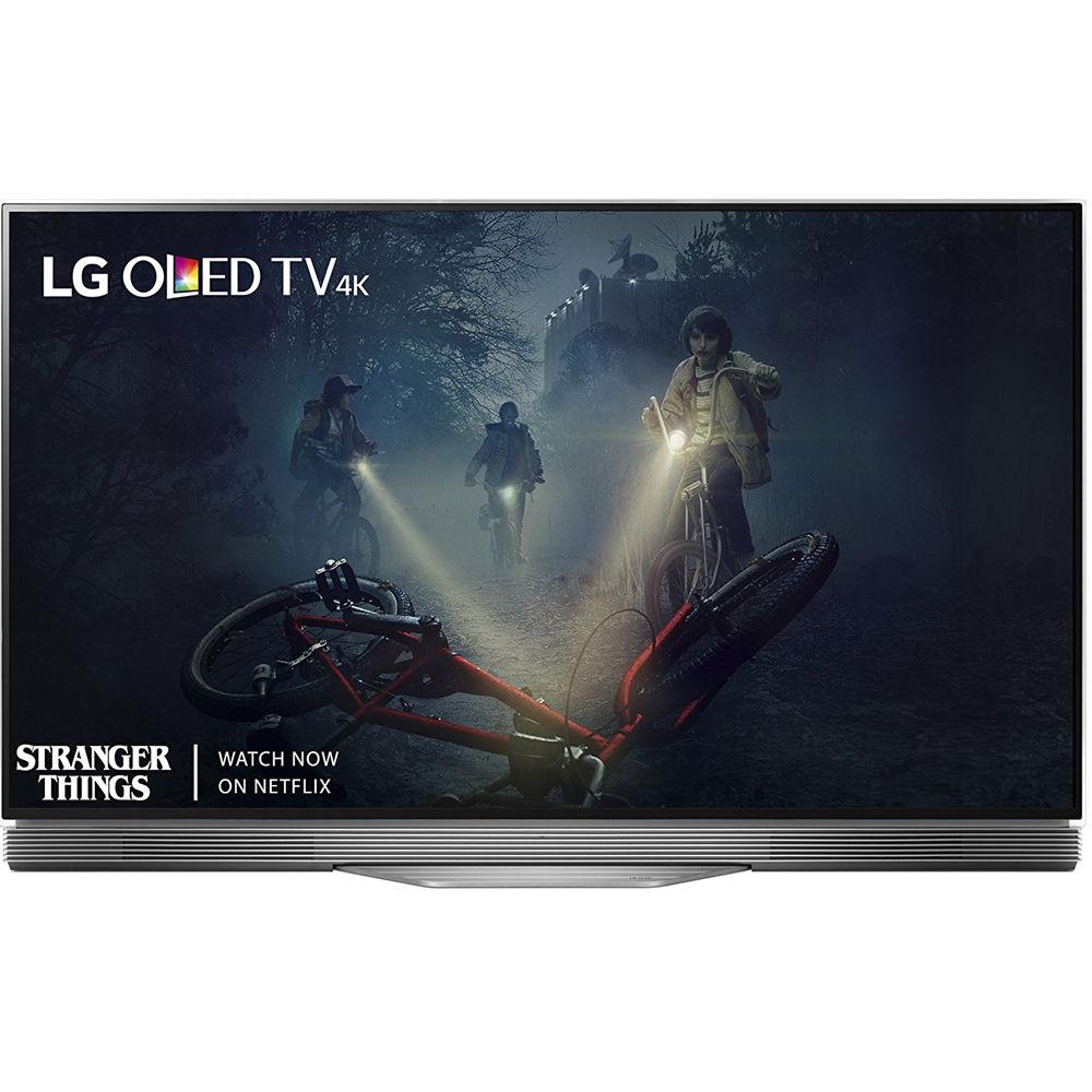 """LG OLED55E7P - 55"""" E7 OLED 4K HDR Smart TV (2017 Model) Manufacturer Refurbished - $1,599.00 $1599.99"""