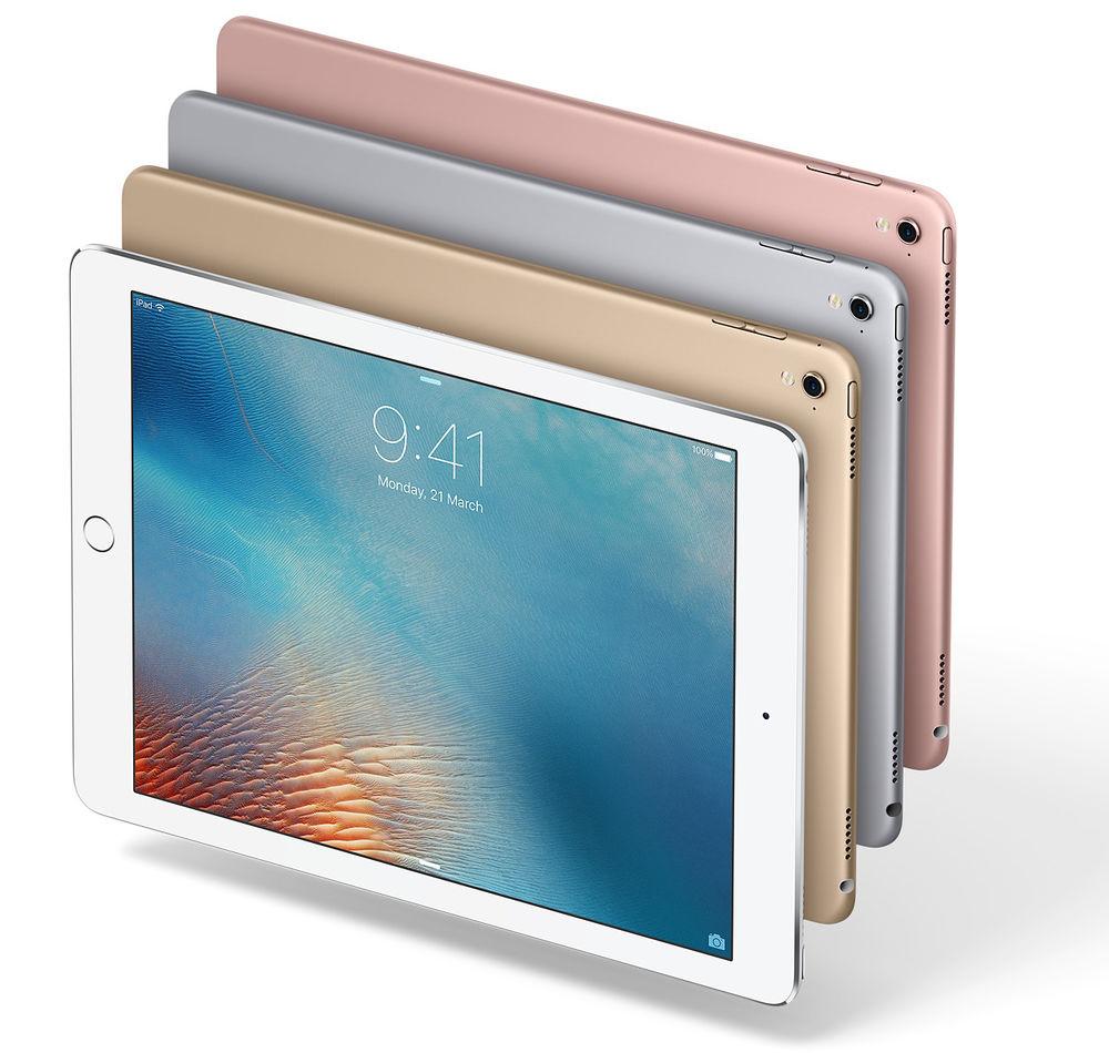 "Apple iPad Pro 9.7"" Retina Display 256GB Wi-Fi Only Tablet - $499.99, pple iPad Pro 12.9"" Retina Display 32GB Wi-Fi Only Tablet $529.99"