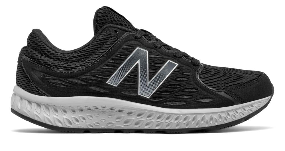 New Balance Men's 420v3 Shoes Black with Grey & Silver - $32.99