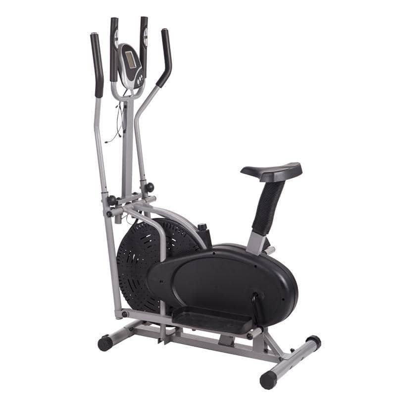 Elliptical Bike 2 IN 1 Cross Trainer Exercise Fitness Machine Upgraded Model 14H - $82.99