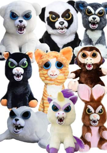 Adorable Feisty Pets Plush Stuffed Animals by William Mark - $19.99