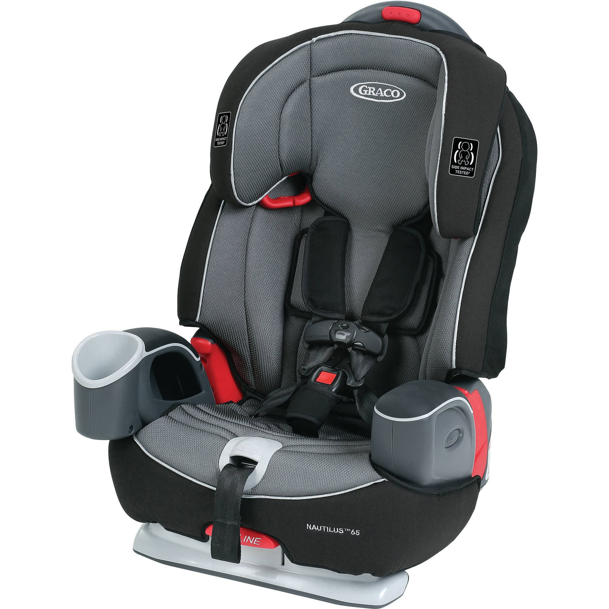 Graco Nautilus 65 3-in-1 Multi-Use Harness Booster Car Seat, Choose Your Pattern for $89