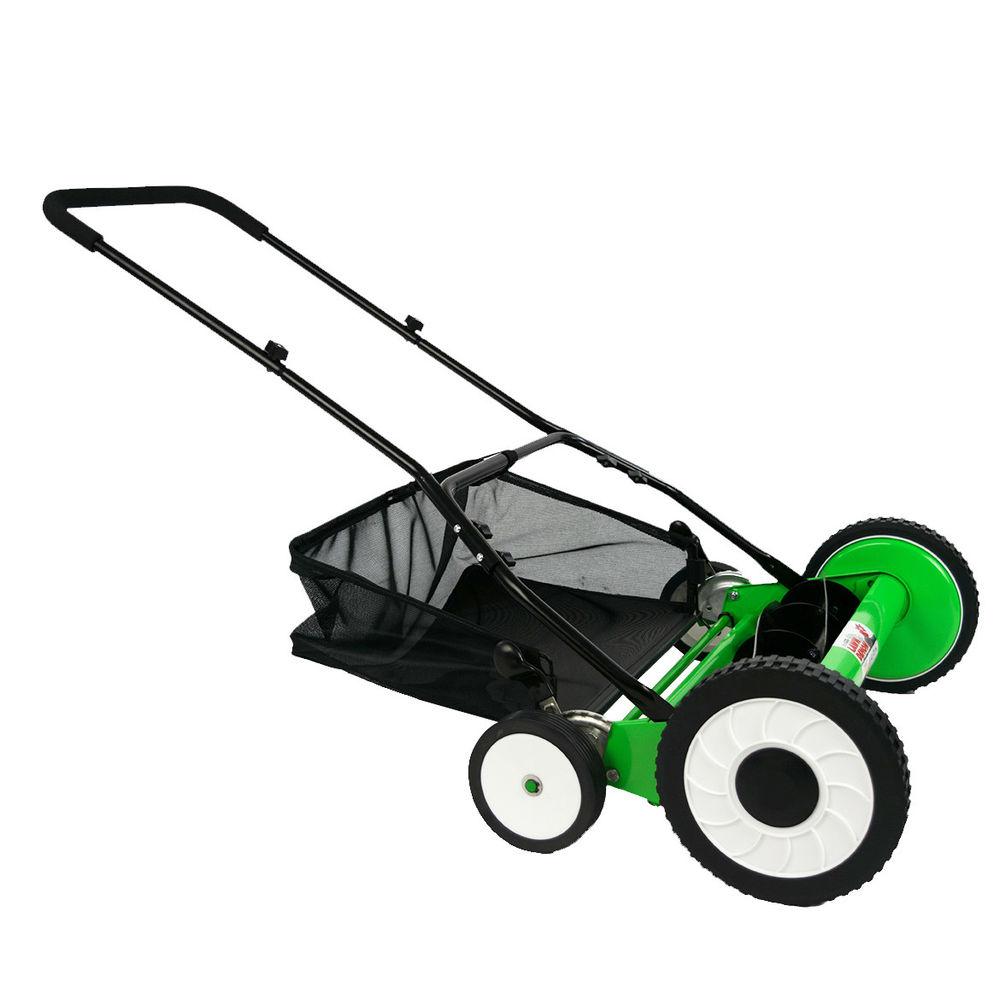 DuroStar Lawn Demon DS2000LD 20-Inch 5-Blade Height Adjusting Push Reel Mower - $62.99