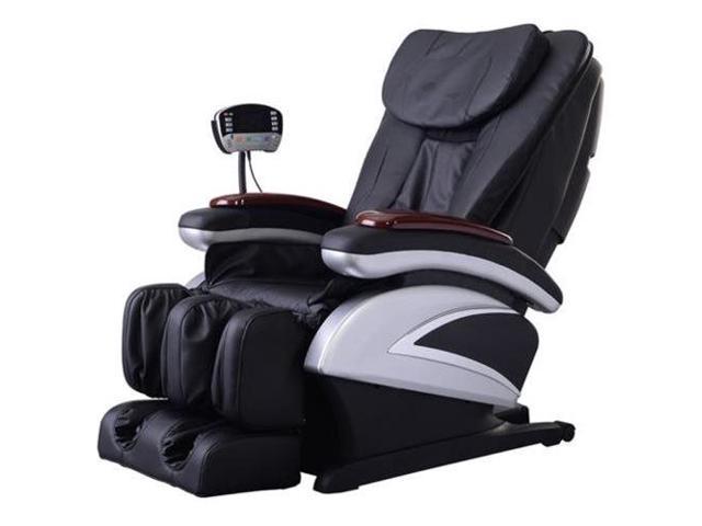 BestMassage BM-EC06C Electric Full Body Shiatsu Massage Chair Recliner with Stretched Foot Rest - Black - $579.99 + $25 Newegg GC