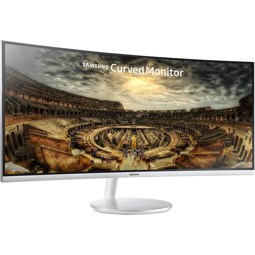 "Samsung 34"" CF791 3440x1440 Curved 21:9 Widescreen Monitor - $629.99"