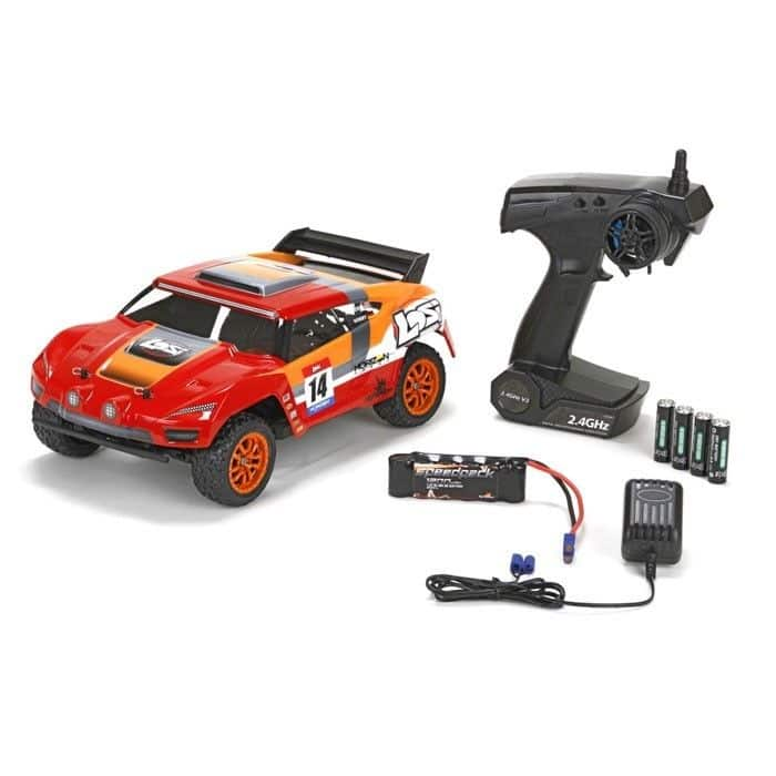 Losi Mini Desert Truck RTR 1/14 4WD Brushless Electric RC Truck - $99.99