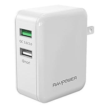 RavPower Cyber Monday Deals - 36W Dual USB C Charger - $13.99, Quck Charge 3.0 12000 Charger - $22.49, 9000mAh Charger - $32.99 & More