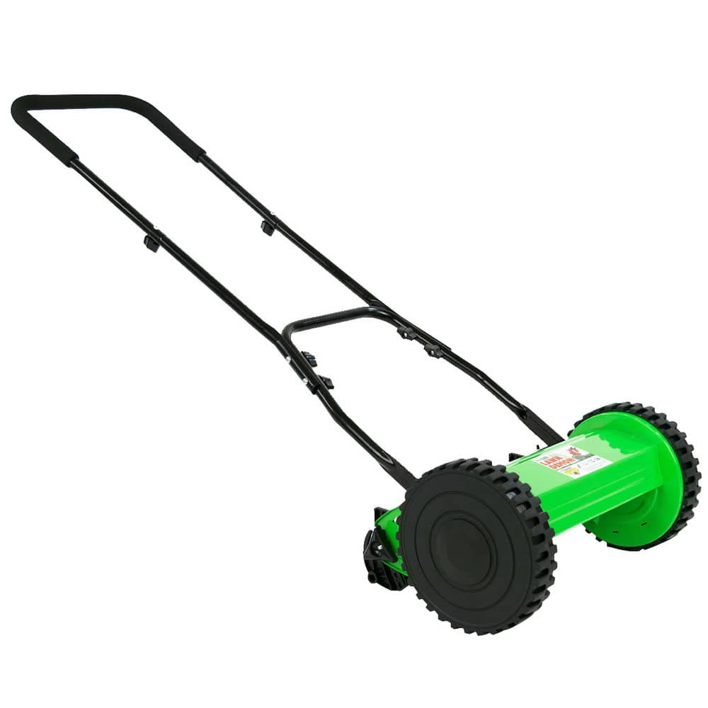 DuroStar Lawn Demon DS1200LD 12-Inch 5-Blade Height Adjusting Push Reel Mower - $44.99