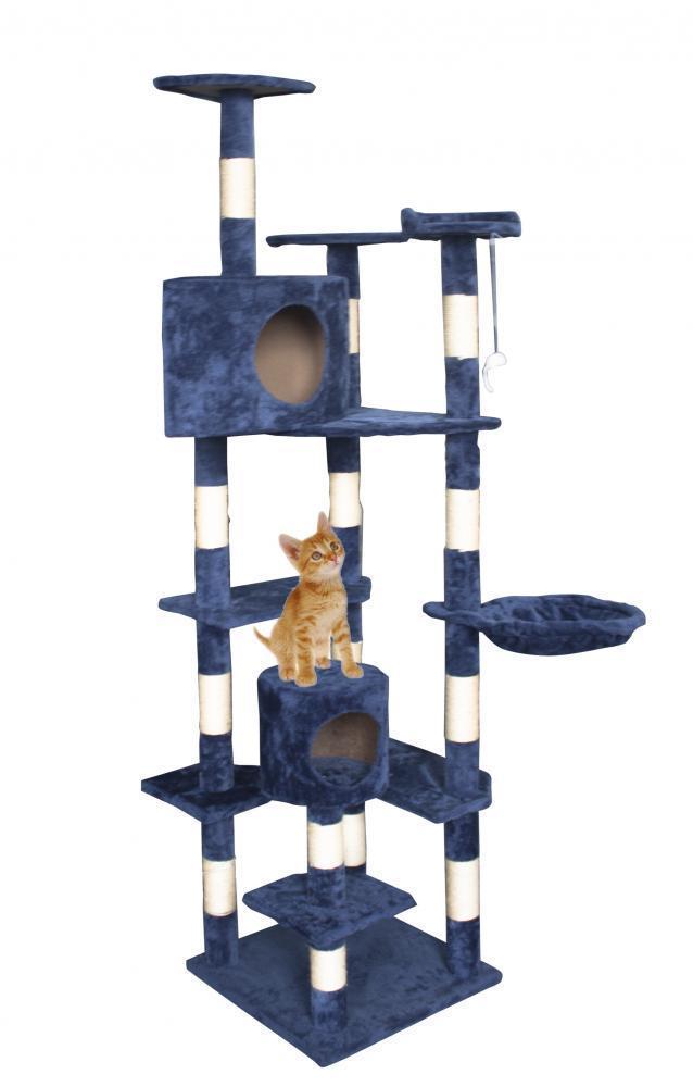 "Cat Tree 80"" Condo Furniture Scratching Post Pet Cat Kitten House T72 - $40.99"