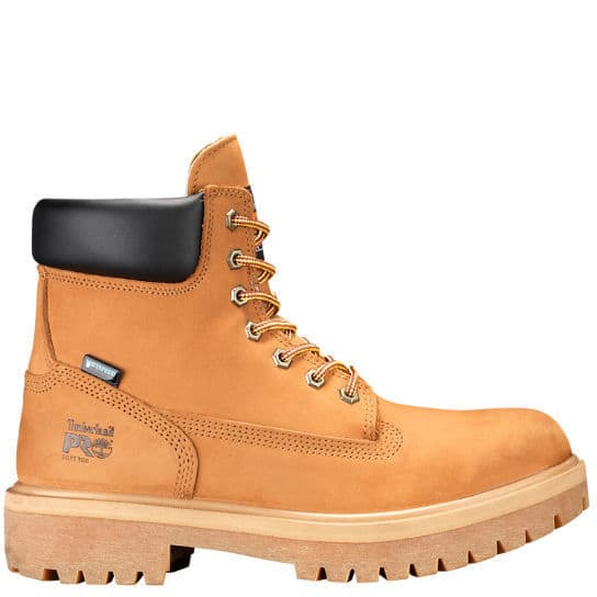 Timberland PRO 65030713 6 Direct Attach WP Tan Insulated Soft Toe EH Boots - $129.99