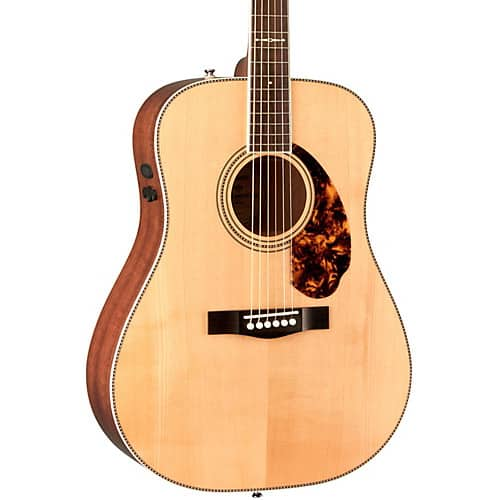 Fender Paramount Series PM-1 Limited Adirondack Dreadnought, Mahogany Acoustic-Electric Guitar Natural - $599.99 + $143.95 in Reward Points