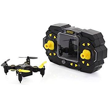 Tenergy TDR Sky Beetle Mini RC Drone with Camera Live Video, 2.4GHz FPV WiFi App Controlled Quadcopter Drone with Docking Transmitter, Auto Hovering, One-key Stunt Moves - $29.24