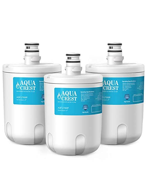 Ecolife Technologies AQUACREST Refrigerator Water Filter Replacements (3-Pack) from $10