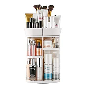 40% Off Jerrybox 360 Degree Rotation Adjustable Makeup Organizer (Various Colors) - $13.99