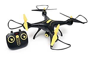 Tenergy Syma X8SW Wifi FPV Quadcopter Drone 720P HD Camera Altitude Hold RC 2.4G 4CH 6 Axis (Exclusive Black Yellow Color) - $77.99