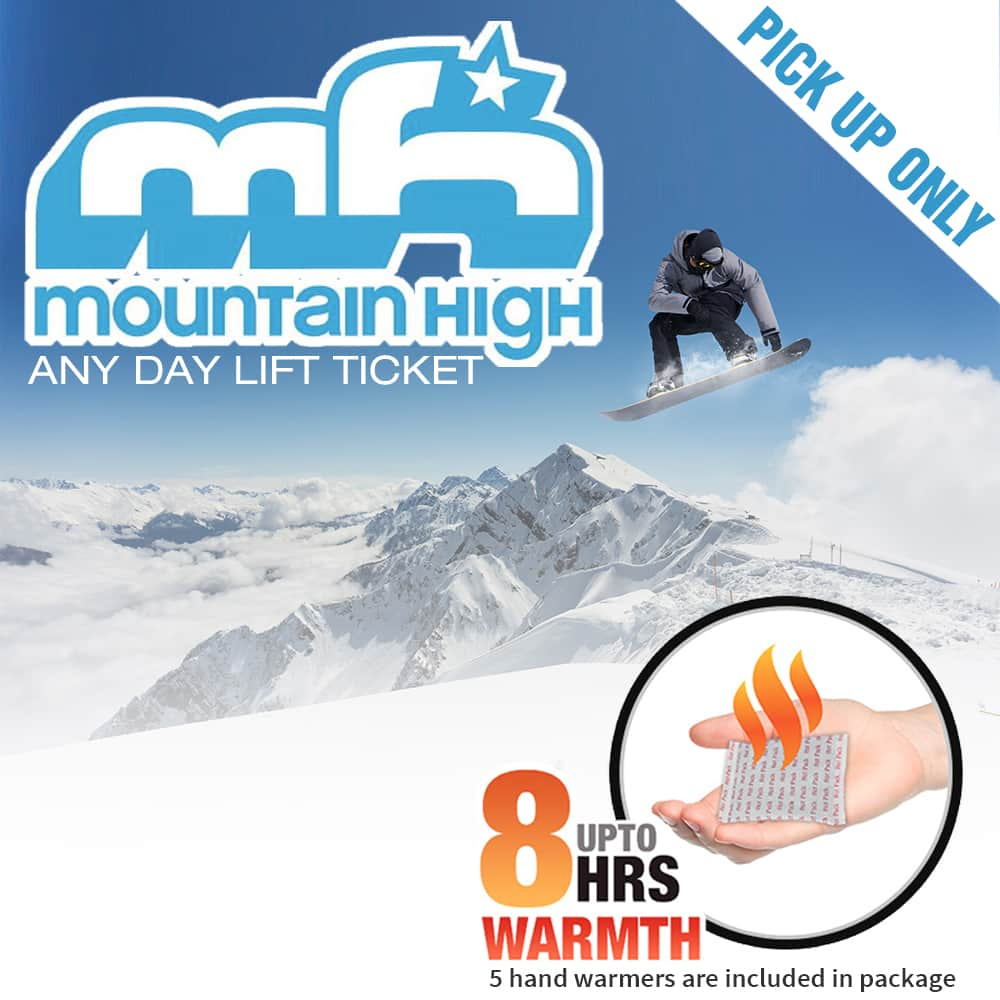 Southern California - Mountain High Lift Tickets - $45 (Free Pickup in City of Industry)