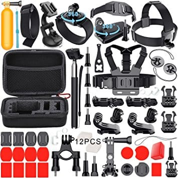 Leknes Common Outdoor Sports GoPro Camera Accessory Kit on sale for $9.99