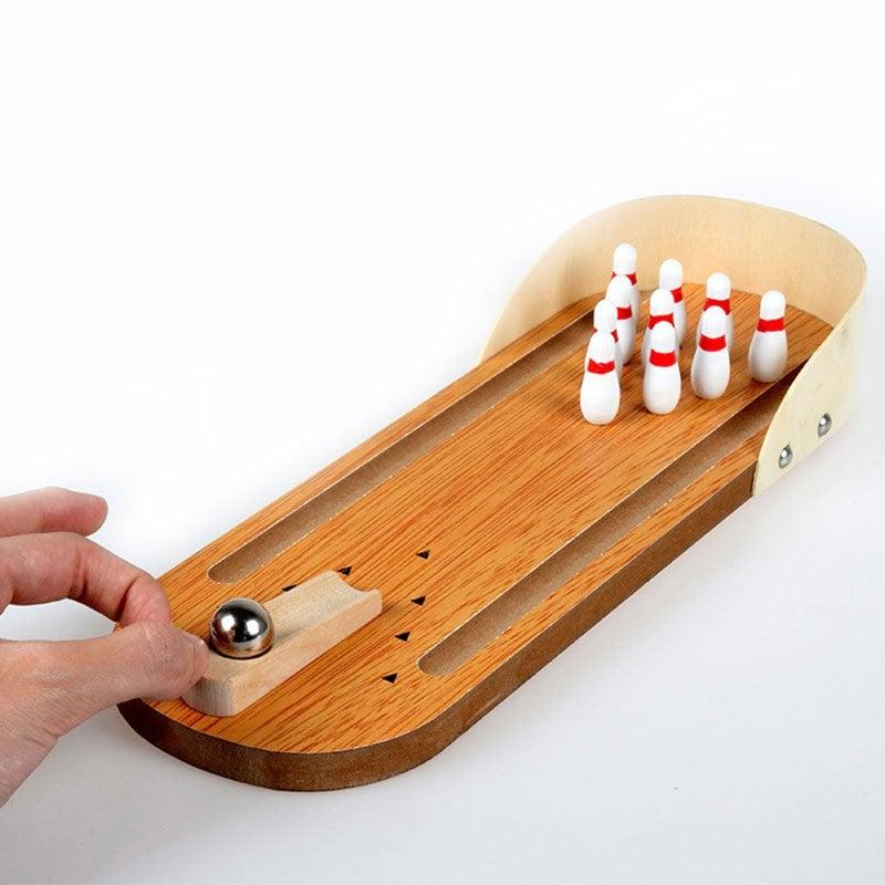 Mini Desktop Bowling Game - $3.25