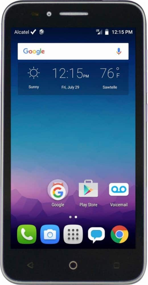 FreedomPop - Alcatel ONETOUCH Conquest 4G LTE with 8GB Memory Cell Phone w/500MB of data + 200 minutes/500 texts included monthly - $29.99