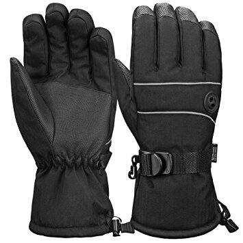 Terra Hiker Waterproof Microfiber Winter Ski Gloves 3M Thinsulate Insulation (Various Colors) on sale from $9.09