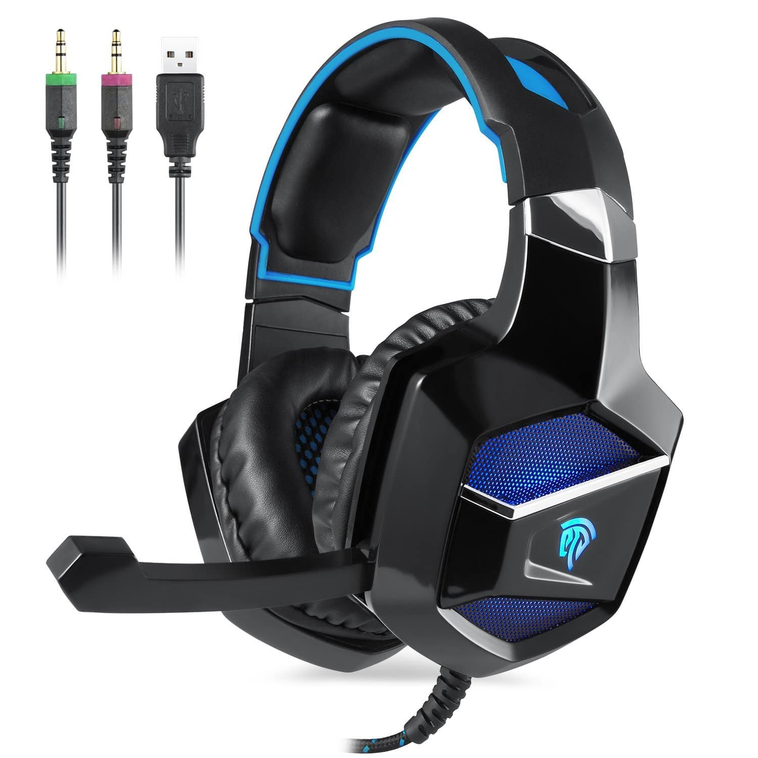 EasySMX K5 New Xbox One Gaming Headset - $12.99