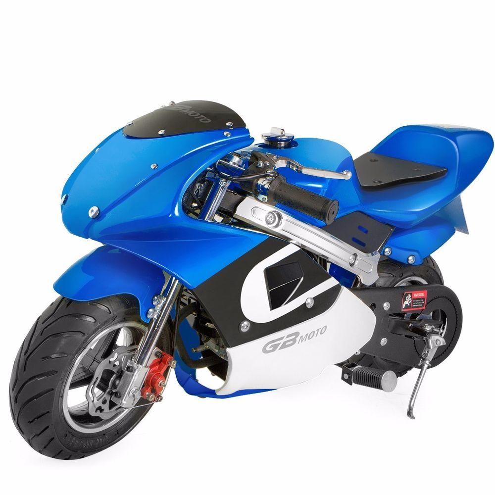 XtremepowerUS Gas Pocket Bike motorbike Scooter 40cc Epa engine Motorcycle - $249.99