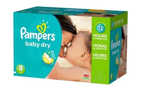 AAFES Exchange Pampers Baby Dry Diapers Size 4 186 ct. $37.49 / Other Sizes Available 25% off
