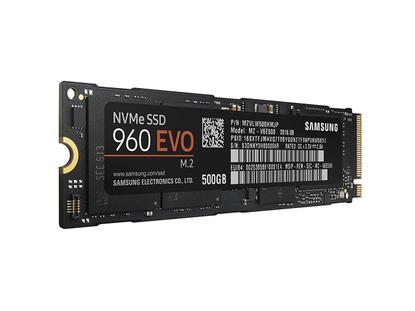 Samsung SSD 960 EVO 500GB M.2 2280 PCIe Gen3 x4 PCI-Express 3.0 x4 NVMe 3D V-NAND MZ-V6E500BW - FS $216.95