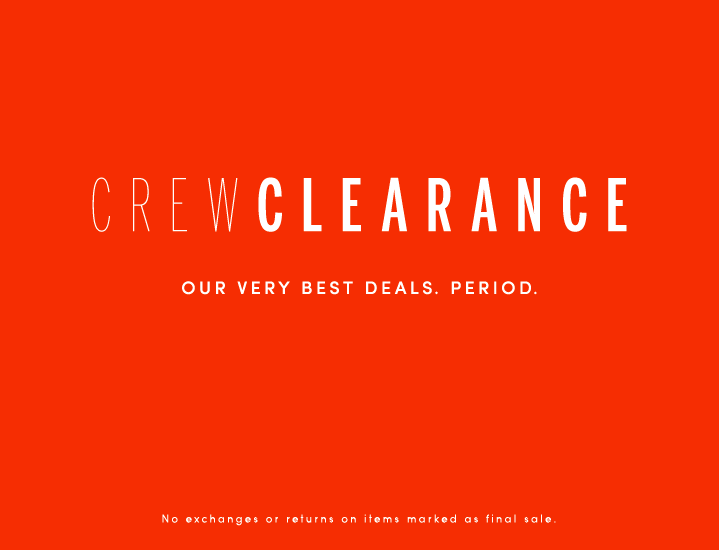JCrew Factory EXTRA 50% off all sale items and FS over $100!
