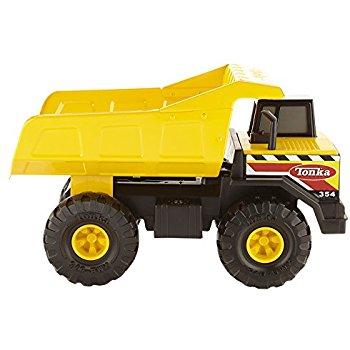 Tonka Classic Steel Mighty Dump Truck for $15 $14.99
