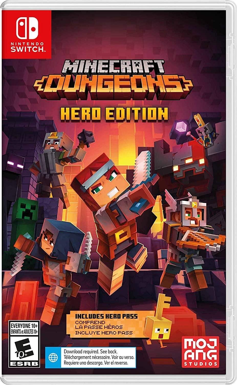 Minecraft Dungeons - Nintendo Switch - Hero Editi
