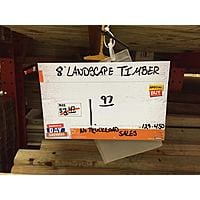 Home Depot Deal: 8 ft. Landscape Timber - $1.97