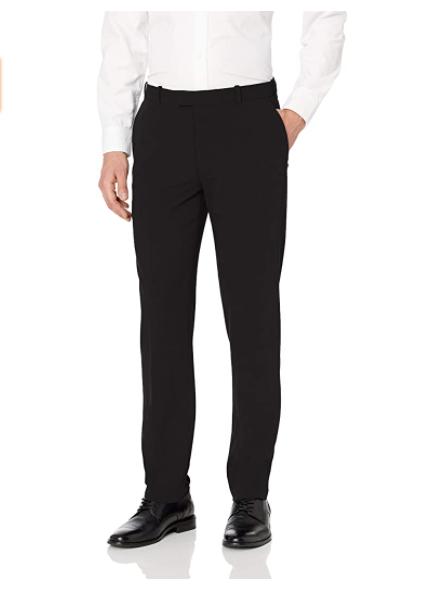 Amazon: Van Heusen Men's Flex Flat Front Straight Fit Pant @ .00 + Free Shipping For prime Members