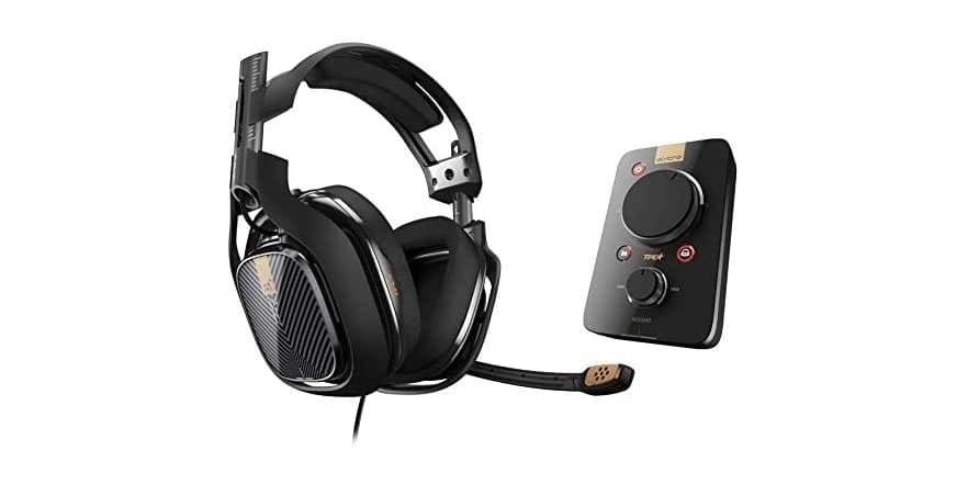 ASTRO A40 TR Headset + MixAmp Pro TR - PS4 - $119.99 - Free shipping for Prime members