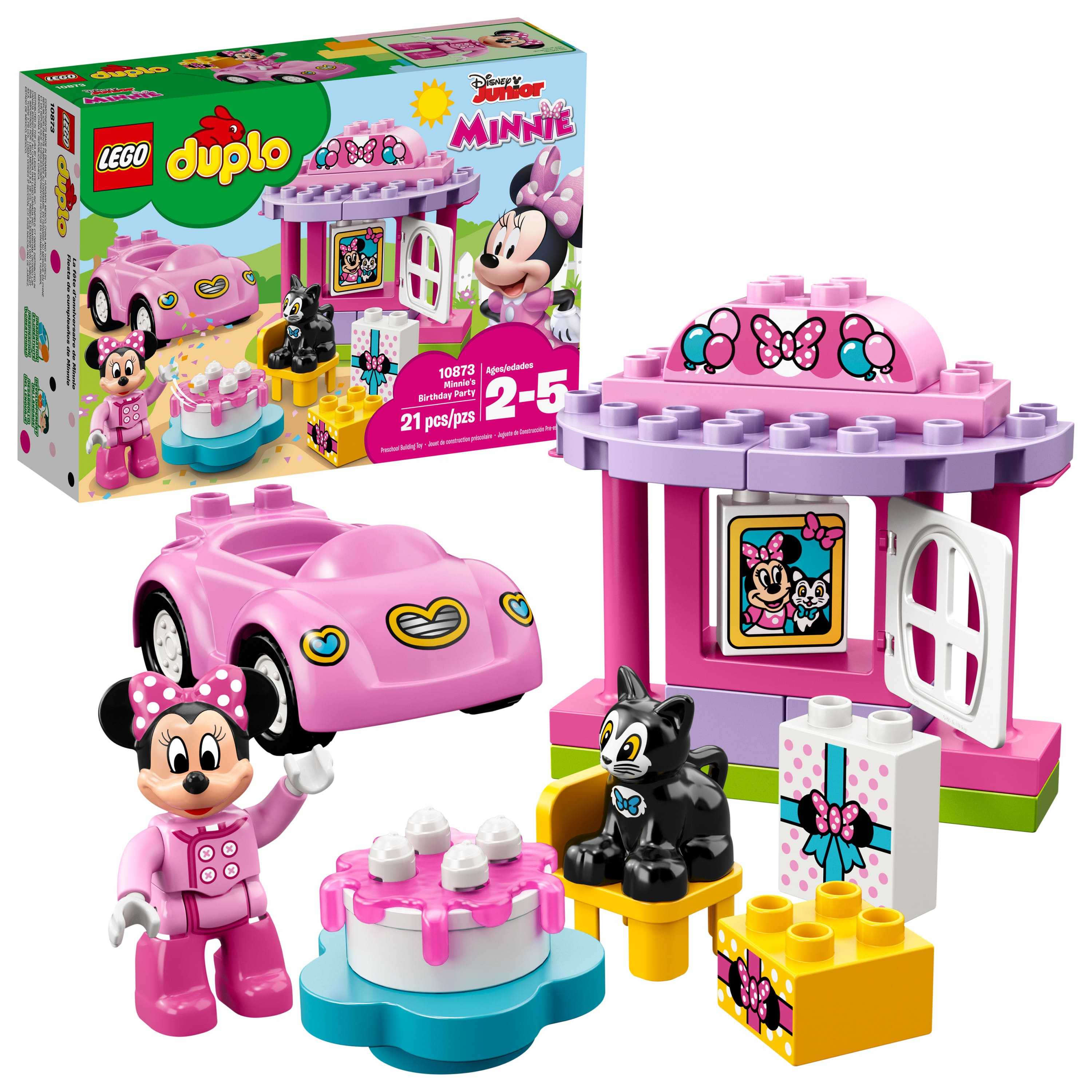 LEGO DUPLO Minnie's Birthday Party 10873 Building Blocks for Toddlers (21 Pieces) only $10