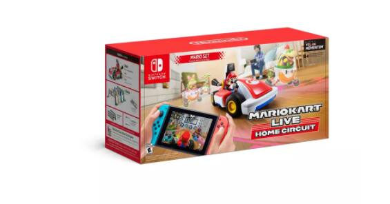 Mario Kart Live: Home Circuit mario set or Luigi set $74.99