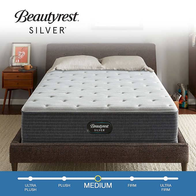 """Costco: Beautyrest 12"""" Silver BRS900 Medium Mattress $439.99; King & Cal King $599.99 Delivered/Haul Away"""