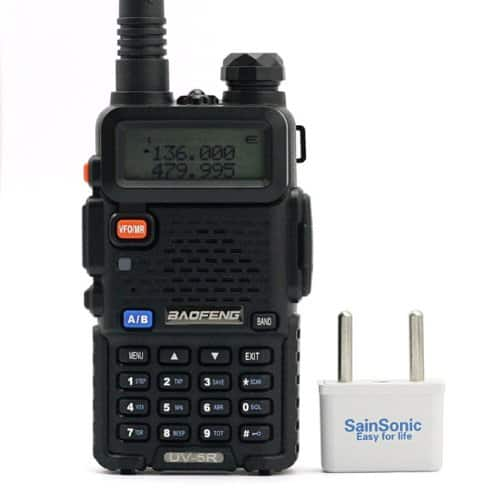 BaoFeng UV-5R 136-174/400-480 MHz Dual-Band DTMF CTCSS DCS FM Ham Two Way Radio only $39.99