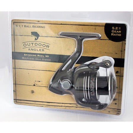 Walmart outdoor angler spinning reel smd3000 for fishing for Walmart fishing reels