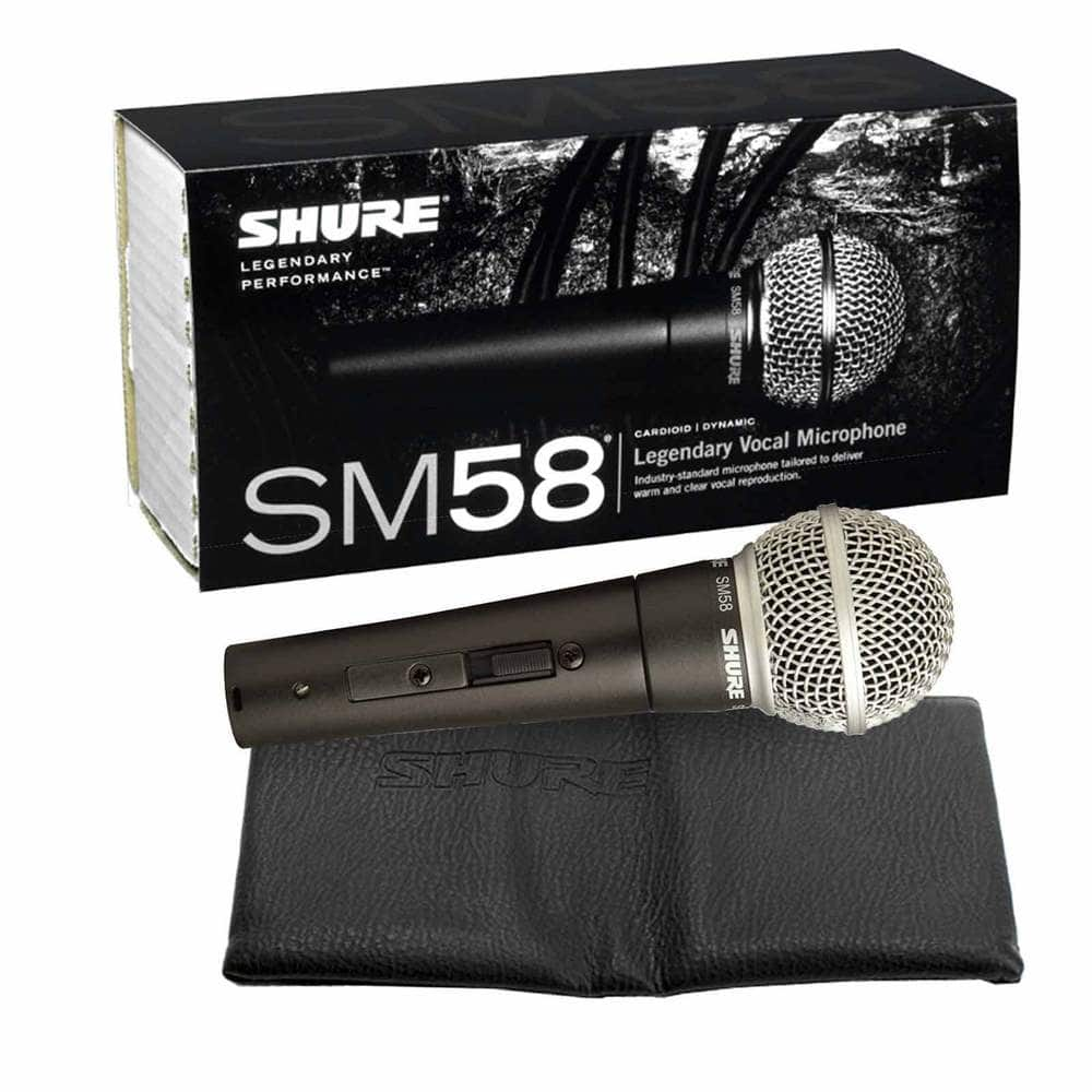 Shure SM58 Vocal Microphone with On/Off Switch $75 w/coupon PHOLIDAY20