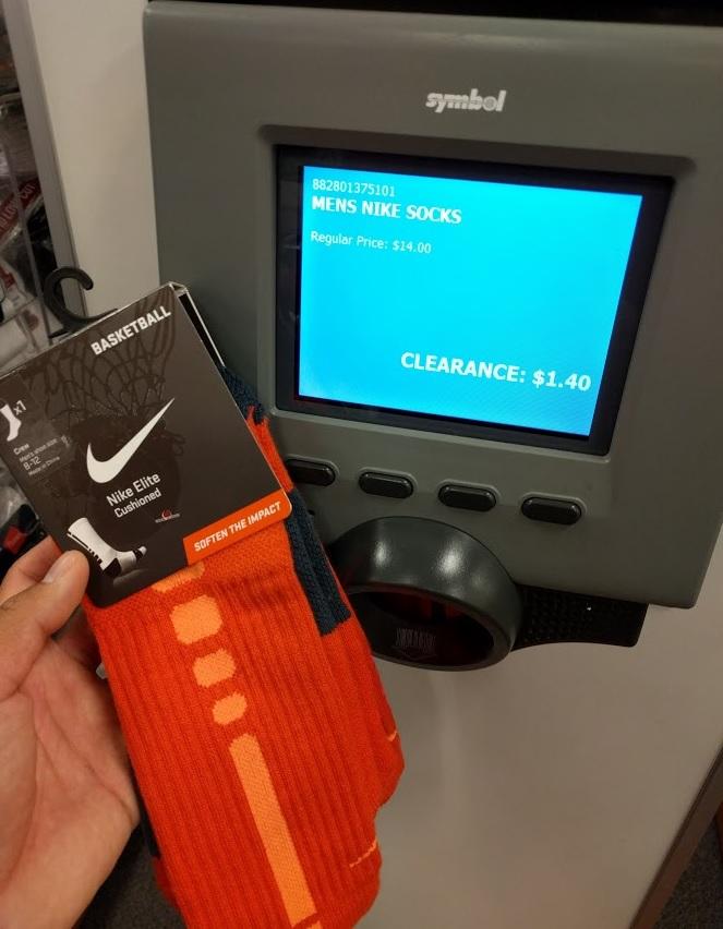 YMMV Nike Elite Basketball Socks $1.40 at Kohl's In-Store