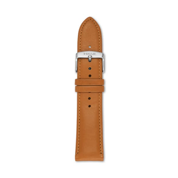 Fossil 22MM Light Brown Leather Watch Strap - $10.50 w/ Free Shipping