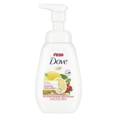 YMMV Dove Lemon & Goji Berry Foaming Liquid Hand Wash Soap - 6.8oz - pack of 3 with $5 GC - Free pickup at Target $9