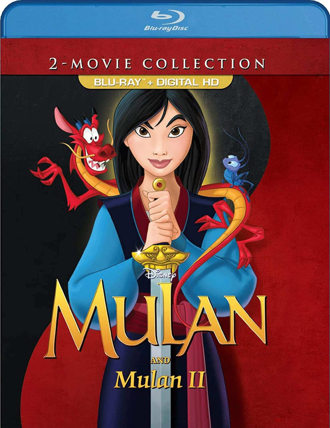 MULAN 2-movie collection [Blu-ray + Digital] $10.47 (Mulan and Mulan II)