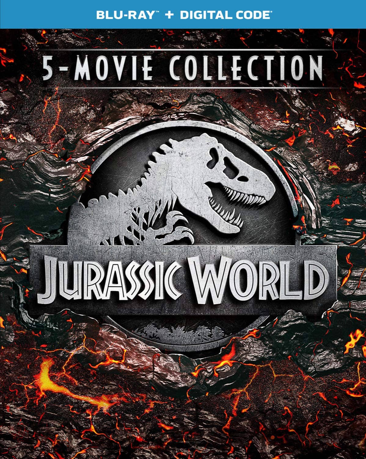Jurassic World 5-Movie Collection [Blu-ray + Digital] $22.99