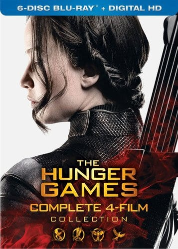 The Hunger Games: Complete 4 Film Collection - $9.99