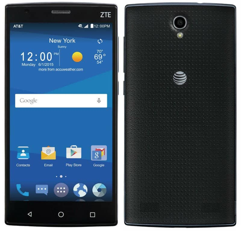 "ZTE Zmax 2 4G LTE phone with 5.5"" display - ""Certified like new"" - AT&T GoPhone -  16GB ROM, 2 GB RAM No-Contract Cell Phone - $59.99 - AT&T online only"